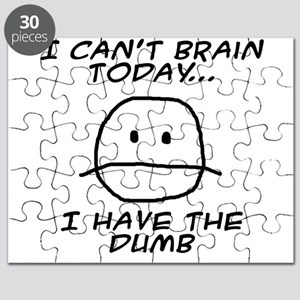 I Can't Brain Today Puzzle